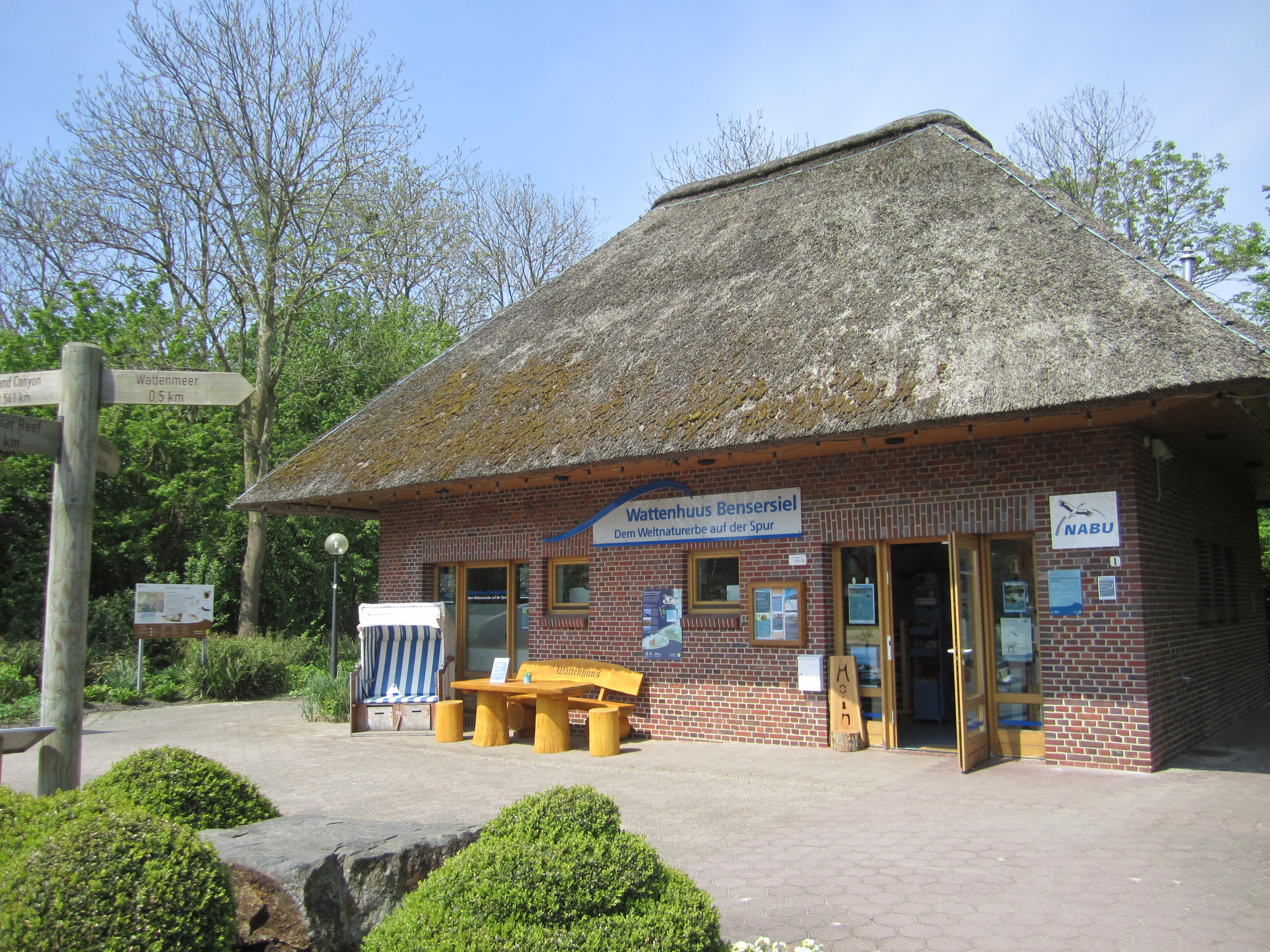 Nationalpark Informationsstelle Wattenhuus Bensersiel
