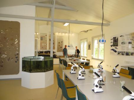 Infostation Nationalpark Wattenmeer